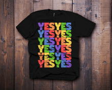 vote yes lgtbq lgtbqi black t-shirt - Fresh Baked Threads
