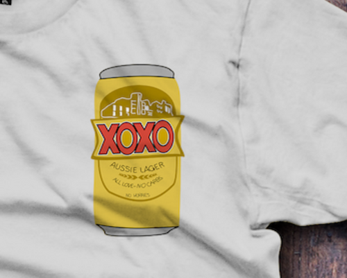 XOXO, XXXX T-Shirt - Fresh Baked Threads