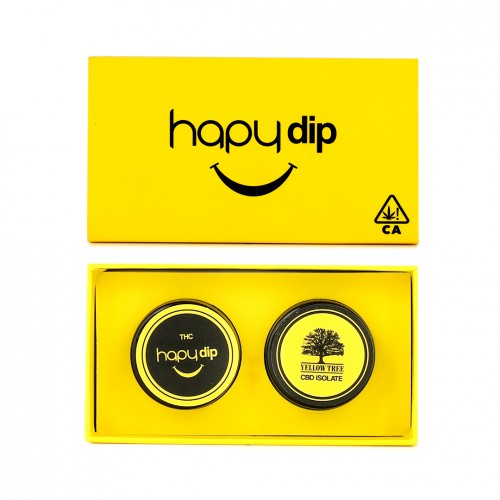 Hapy Dip THC with Yellow Tree CBD Isolate
