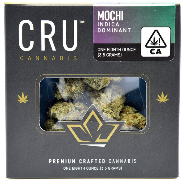 CRU Cannabis -  Mochi - Indica dominant - (1/8th)