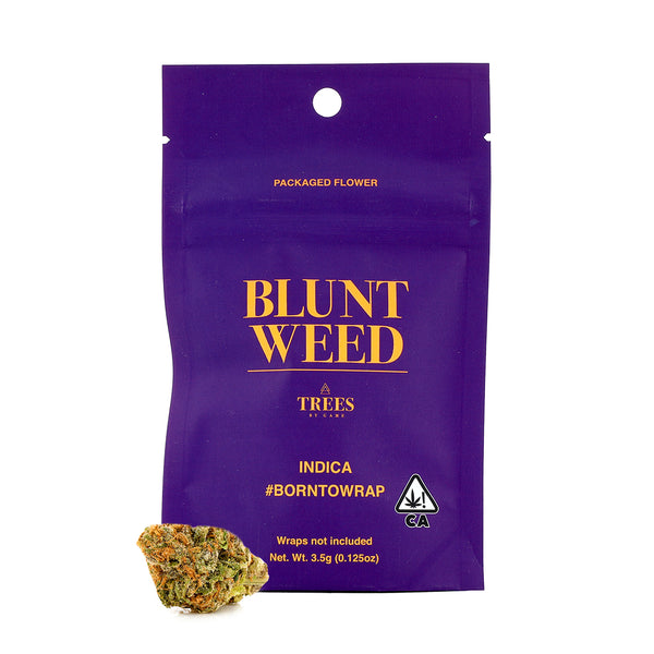 Blunt Weed - 1/8th - Purple Kush - Indica - 22.56%