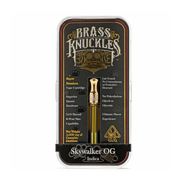 Brass Knuckles - 1g Cartridge - Skywalker OG - Indica