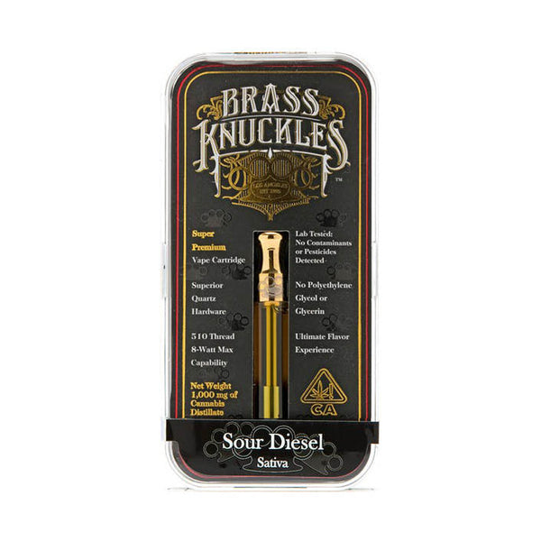 Brass Knuckles - 1g Cartridge - Sour Diesel