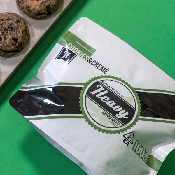 Heavy - Cannabis Infused Cookies- Cookies & Creme - 100mg THC