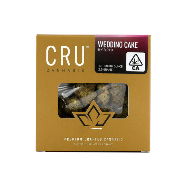 CRU - 3.5g - Wedding Cake - Hybrid - 27.53%