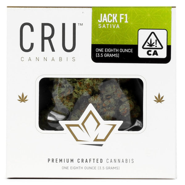 CRU Cannabis - Jack F-1 - Sativa - (1/8th)