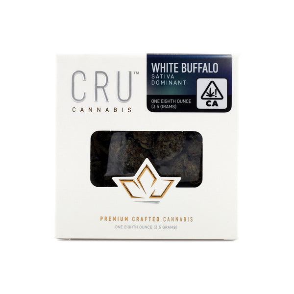 CRU - White Buffalo - 1/8th - Sativa - 25.72%