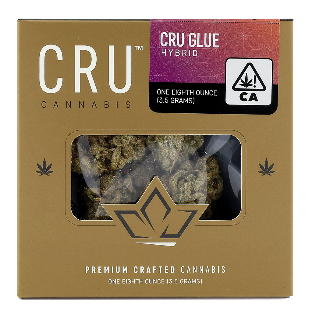 CRU Cannabis - CRU Glue - Hybrid - (1/8th)