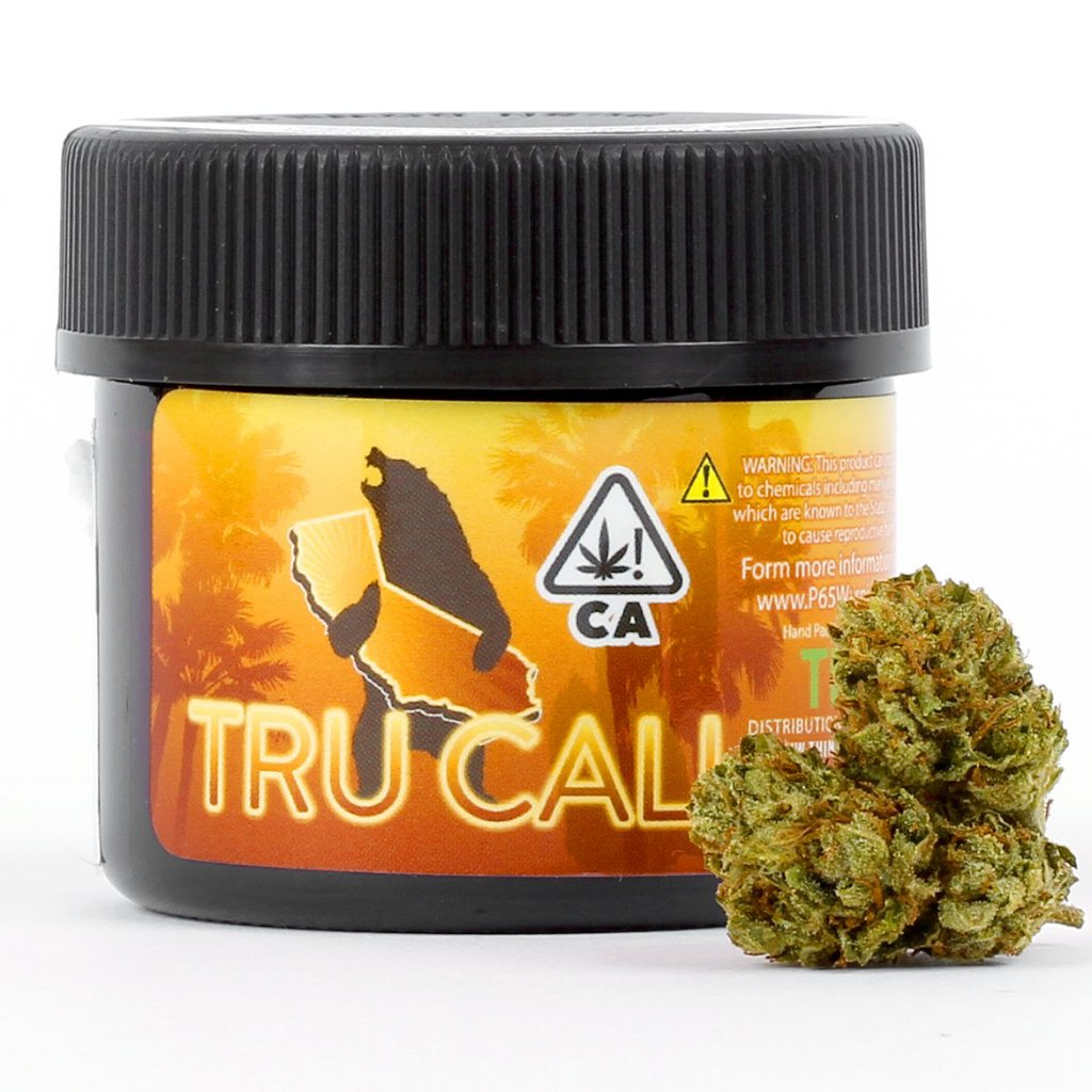 TRU CALI - Chocolate OG - (1/8th) - Indica