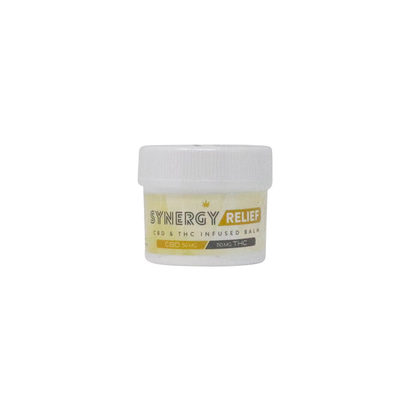 Synergy CBD/THC Relief Balm 50mg Dixie {213}