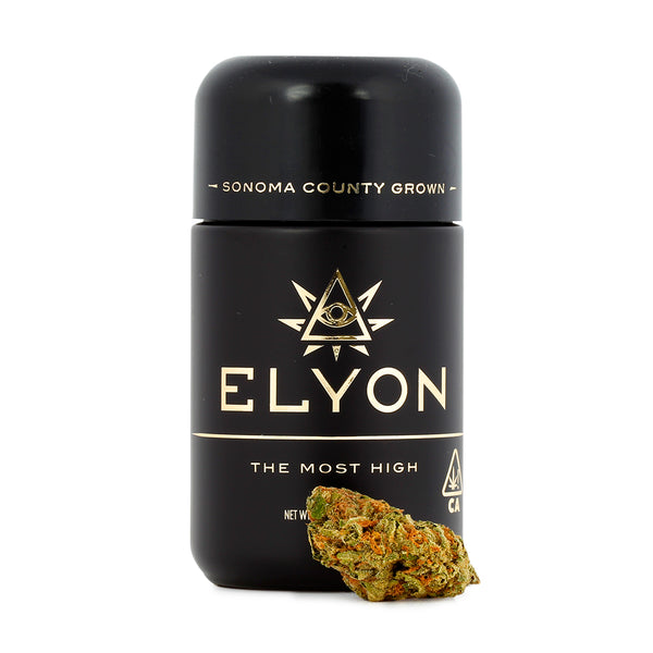 Elyon Cannabis - Double Mints - Nighttime - 1/8th - 26.16%
