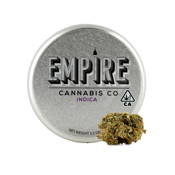 Empire Cannabis Co. - Biscotti - 1/8th - Indica- 21.44%
