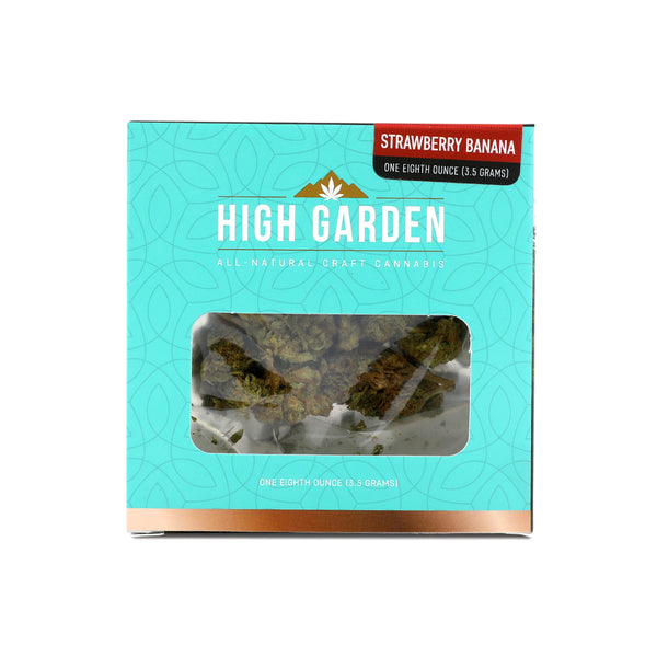 High Garden - Strawberry Banana - 1/8th - Sativa Dominant - 23.42%