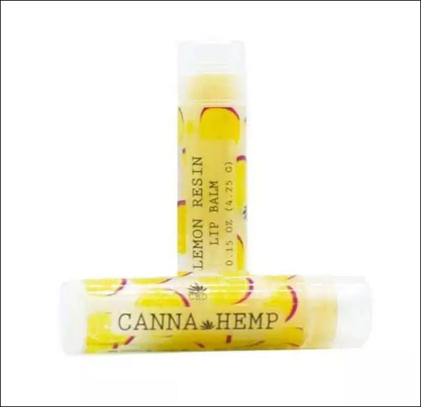 CBD Lemon Resin Lip Balm CannaHemp {252}