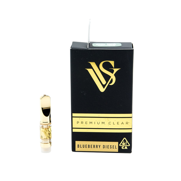 VVS Pens - Gold .5g Cartridge - Blueberry Diesel - Sativa