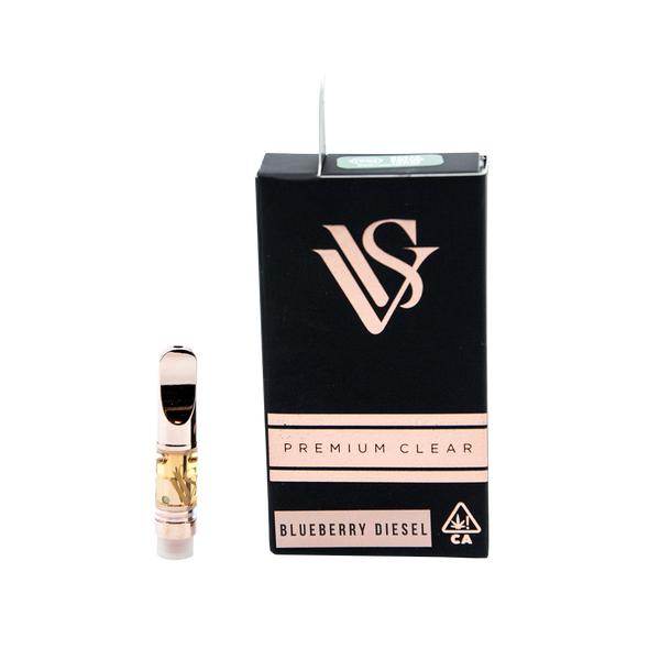 VVS Pens - Rose Gold .5g Cartridge - Blueberry Diesel - Sativa