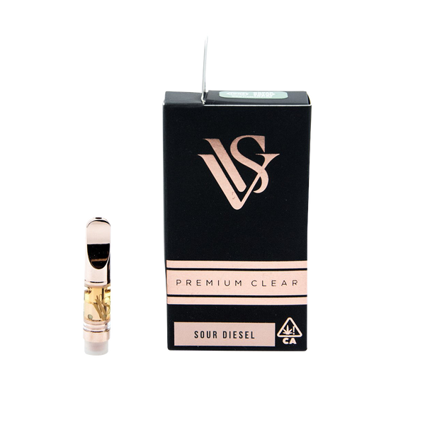 VVS Pens - Rose Gold .5g Cartridge - Sour Diesel - Sativa