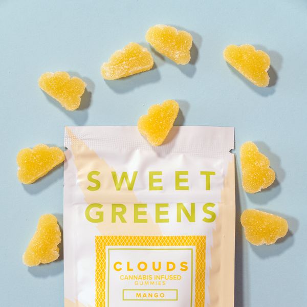 Sweet Greens - Clouds - 100mg