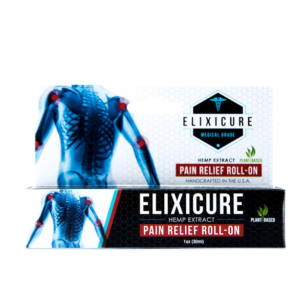Elixicure - Pain Relief Roll On - 100mg CBD - Original
