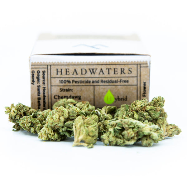 Headwaters - Chemdawg - Hybrid - (1/8th) - 19.4% THC