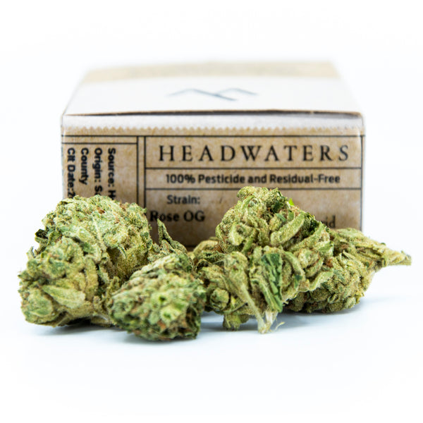 Headwaters - Rose OG - 1/8th - Indica Dominant - 16.6% THC