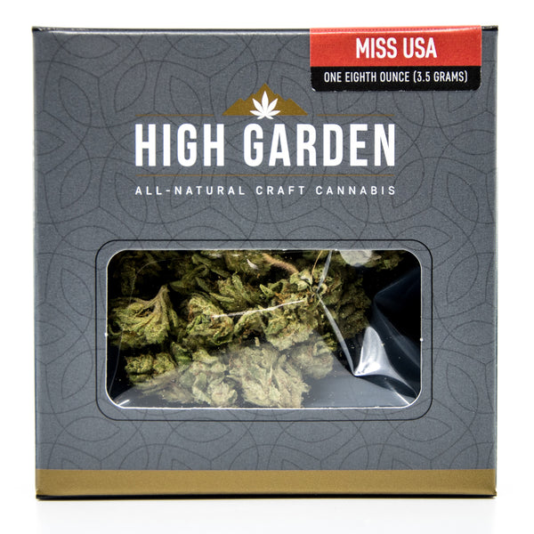 High Garden - Miss USA - Indica (1/8th)