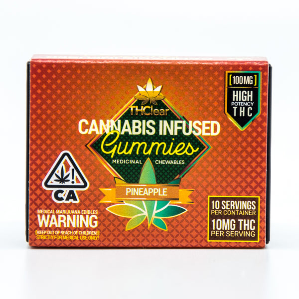 THClear - Cannabis Infused Gummies - (100mg)
