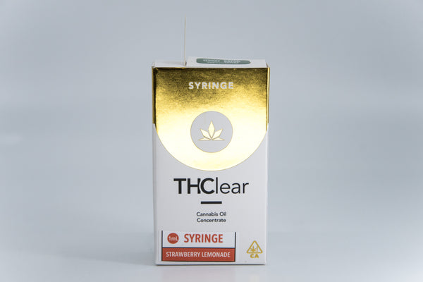 THClear - 1g Syringe - Strawberry Lemonade - Sativa
