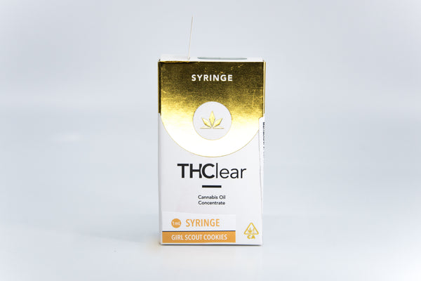 THClear - 1g Syringe - Girl Scout Cookies - Hybrid