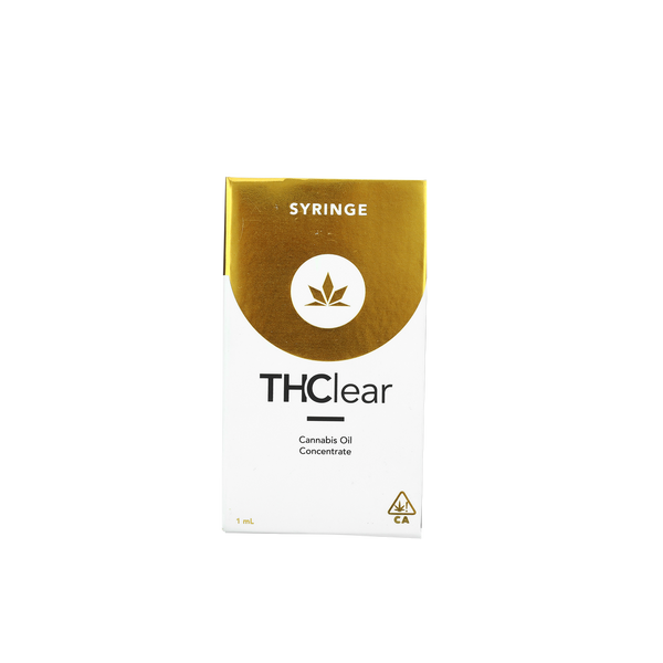 THClear - 1g Private Reserve Syringe - Strawberry Glue - Hybrid