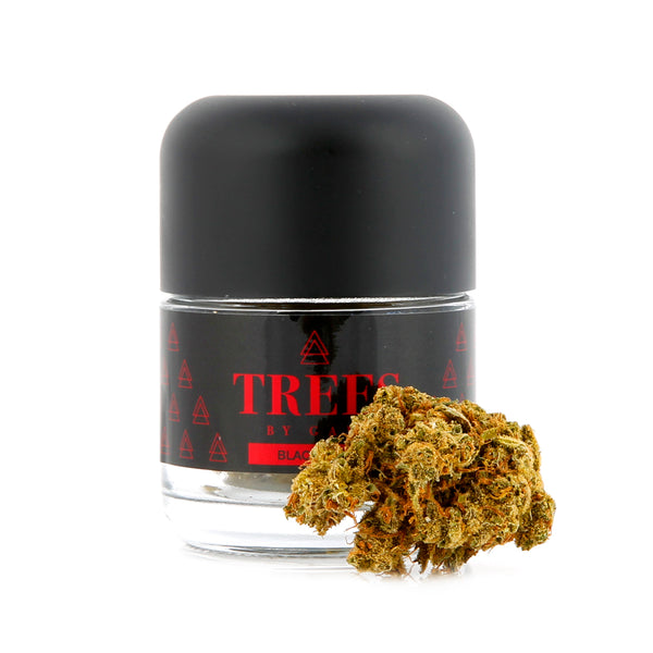 Trees by Game - 1/8th Jar - Black Jack - Hybrid - 23.26%