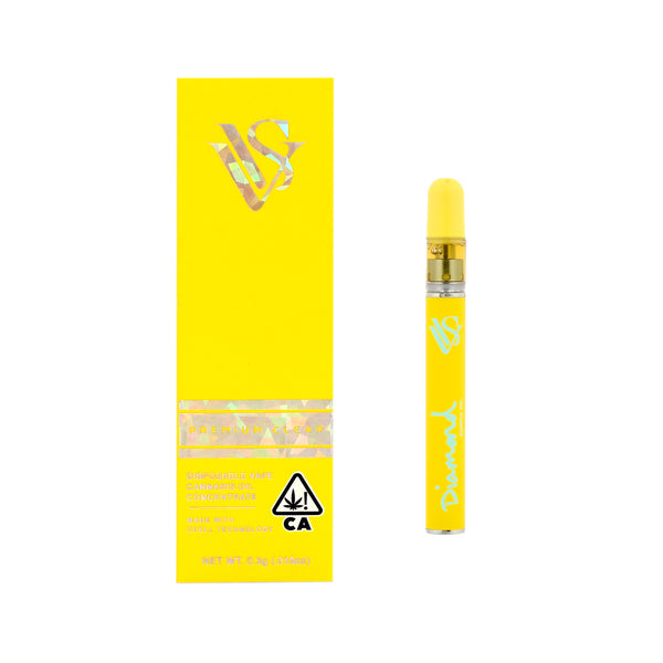 VVS x Diamond Supply Co - 0.3g - Disposable Pens - Canary Edition
