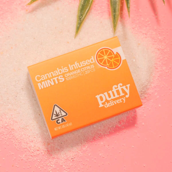 Puffy Delivery - Mints - Citrus - 100mg