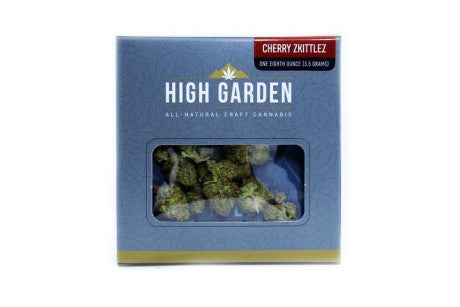 High Garden - Cherry Zkittlez - Indica Dominant (1/8th)