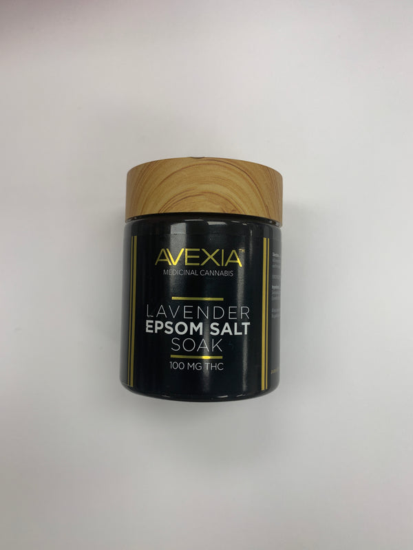 Lavender Epsom salt soak Alexia Topical THC 6oz {111}
