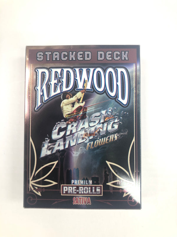 Stacked Deck SATIVA PR 0.5g 5 Pack J.H. Crash Landing {389}