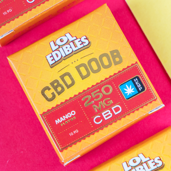LOL Edibles - CBD Doob Cube - 250mg
