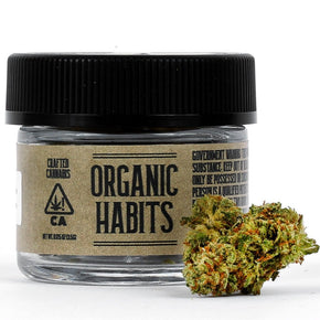 Organic Habits - Black Jack - 1/8th - Sativa 19.2%