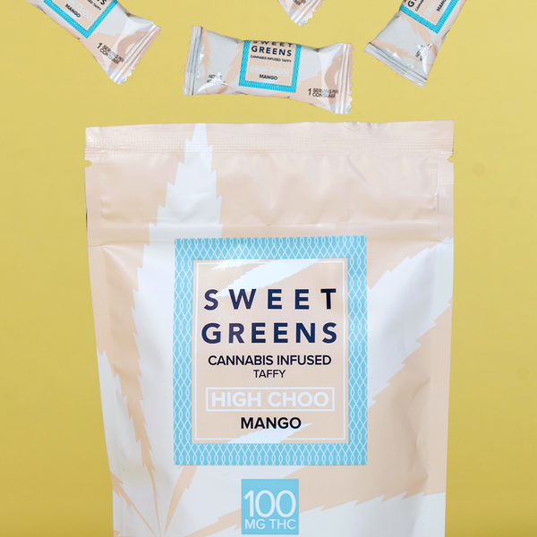 Sweet Greens - High Choo - Mango - 100mg