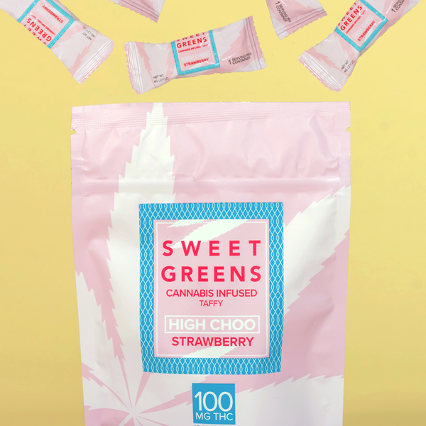 Sweet Greens - High Choo - Strawberry - 100mg
