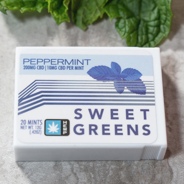 Sweet Greens - CBD Mints - 200mg