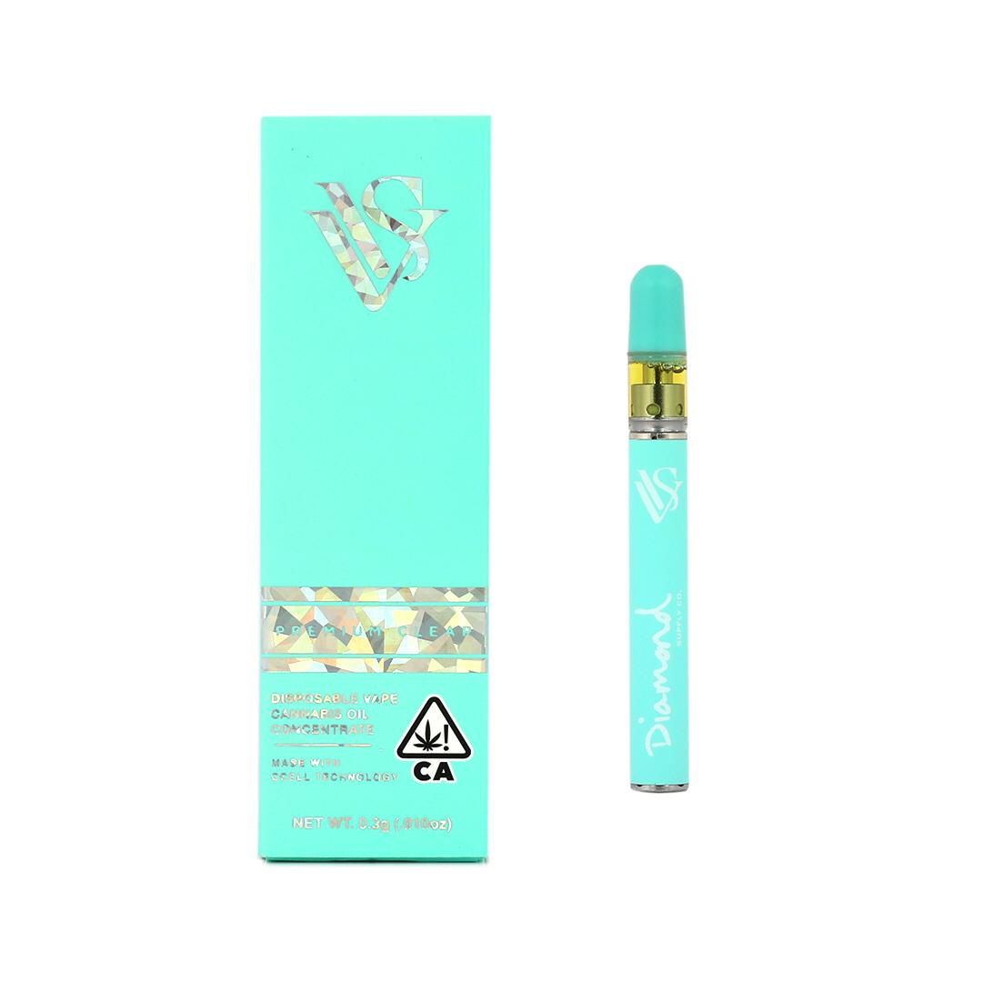VVS x Diamond Supply Co - 0 3g - Disposable Pens - Teal Edition