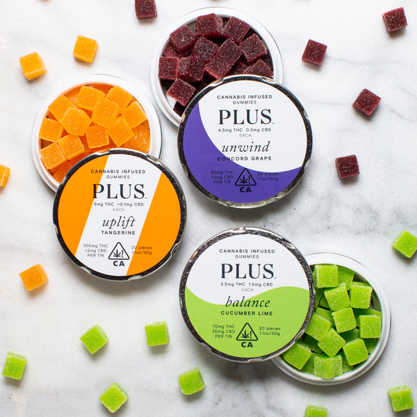 Plus Gummies - Asst. flavors