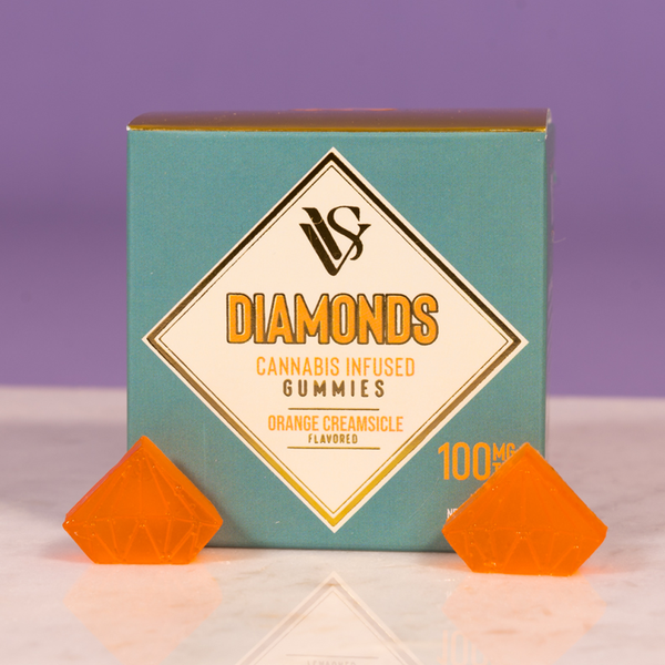 VVS - Diamonds - Orange Creamsicle - Indica - 100mg