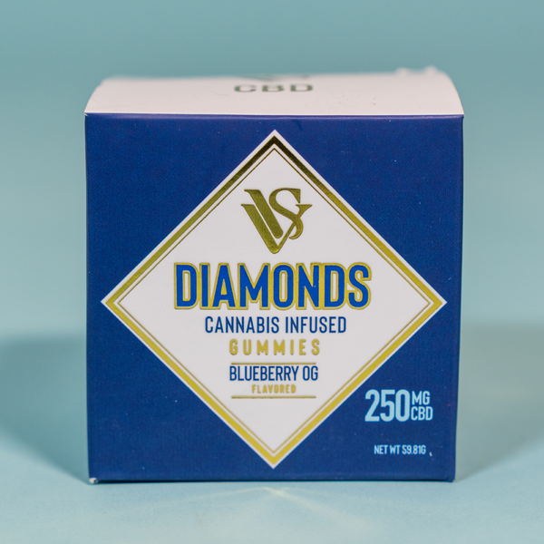 VVS Diamonds - CBD Gummies - 250mg - Asst.