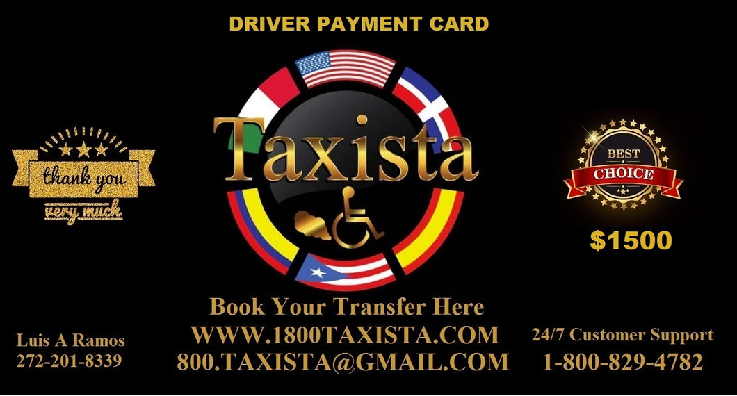 Driver Payment Card 5622.00