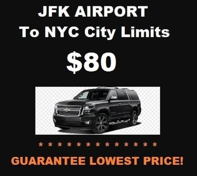JFK SUV To NYC City Limits