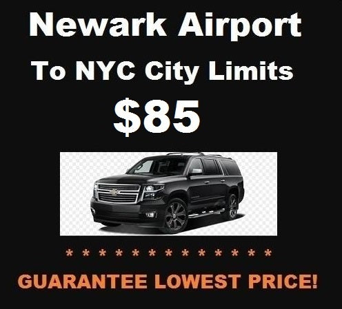 Newark Airport SUV to NYC