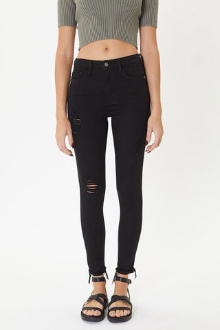 Dawson Black Distressed Jeans