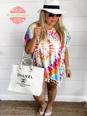 Summer Daze Tie Dye Coverup